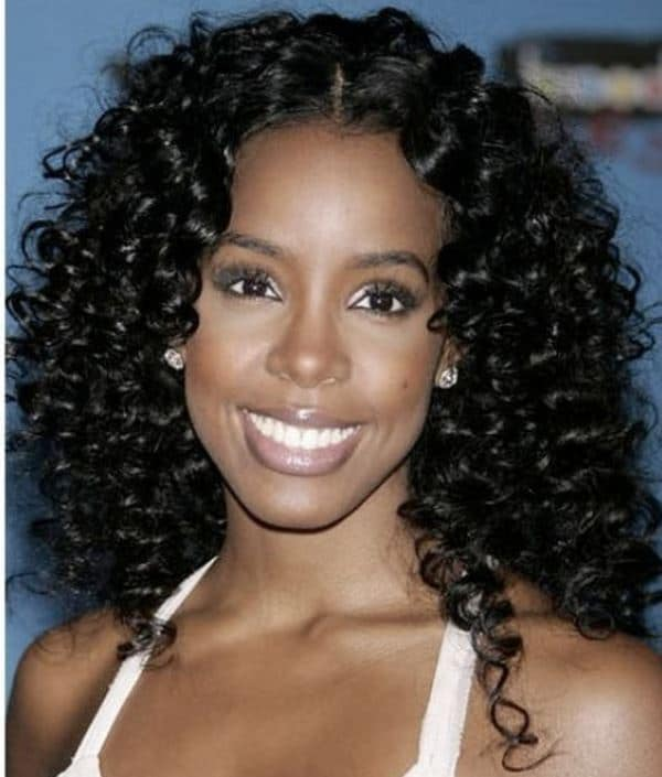 rods hairstyle : due to use particular flexi rods this hairstyle is called as flexi rod ...