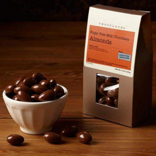 Milk Chocolate Dipped Almonds