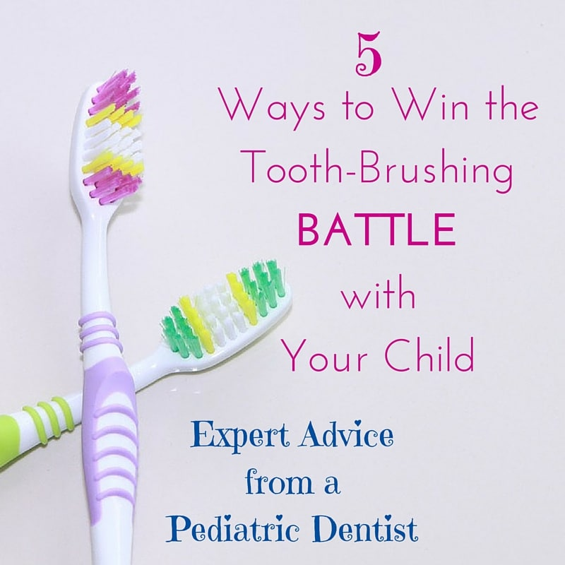 5 Ways to Win the Tooth-brushing Battle With Your Child