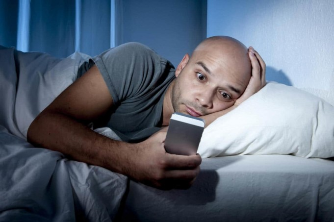 Phone-Induced Insomnia