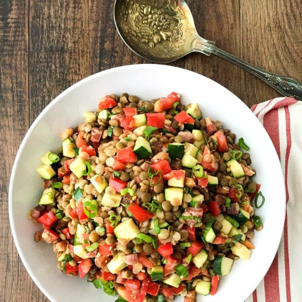 Sprouts And Lentils Salad