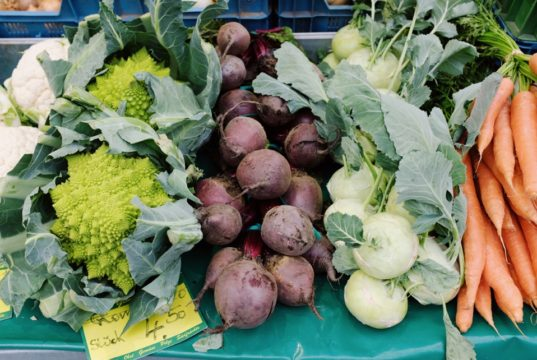 A picture containing vegetable, plant, fresh, arranged Description automatically generated
